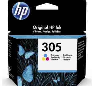HP 305 Tri-color Original Ink Cartridge