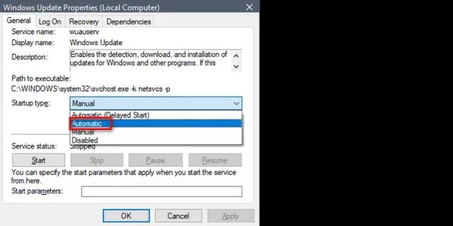 Service Registration is Missing or Corrupt Windows Update