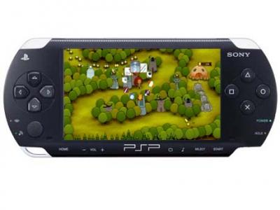 Juego PSP pixeljunk