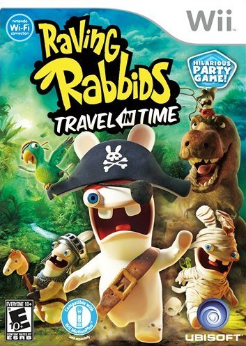 Wii: Raving Rabbids Travel in Time
