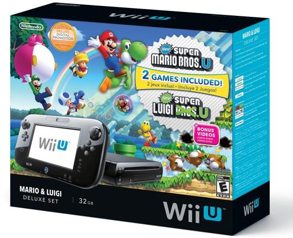 la nueva Wii U y del New Super Mario Broos.U