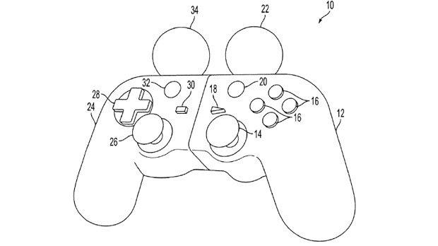 Sony Patenta nueva version de su dualshock