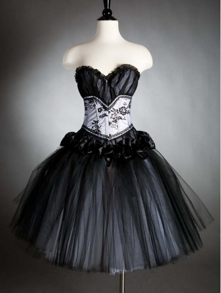 For Halloween Party  Gothic Prom Dresses