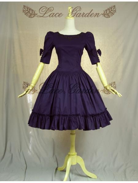 Purple Classic Lolita Dress  Devilnightcouk