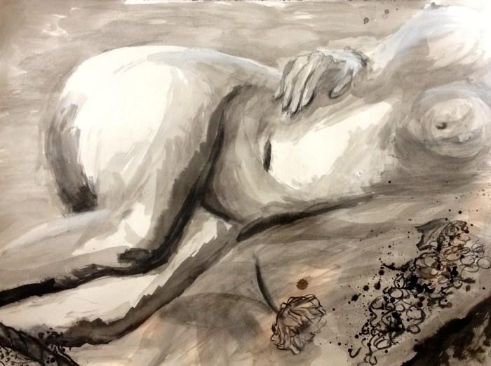 Dévi Loftus, Nude