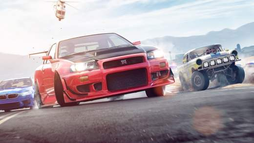 Scena di Need for Speed Payback