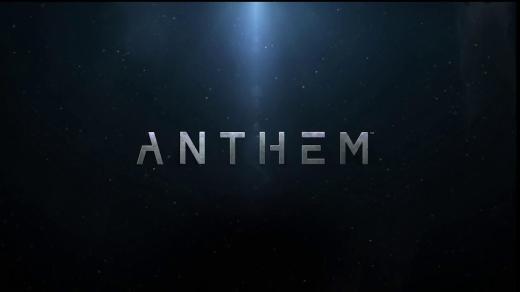 Logo Anthem, nuovo gioco BioWare