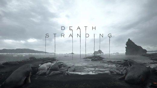 Immagine di Death Stranding con logo