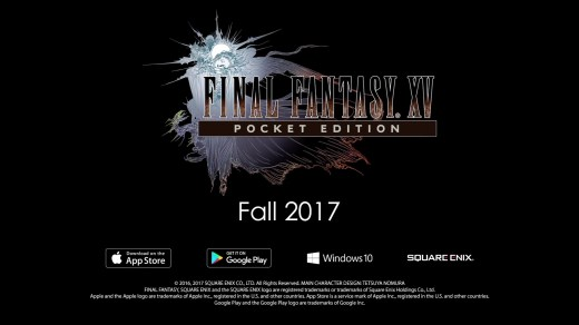 Annuncio Final Fantasy XV: Pocket Edition