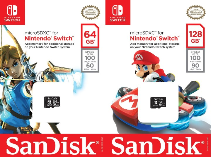 Memorie esterne per Nintendo Switch
