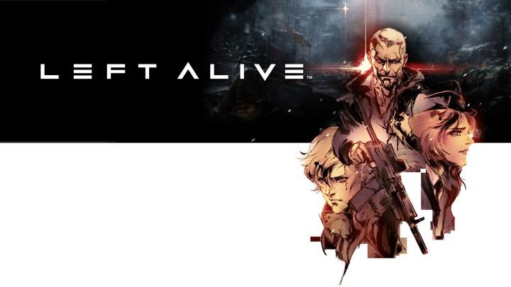 grafica raffigurante i personaggi di left alive