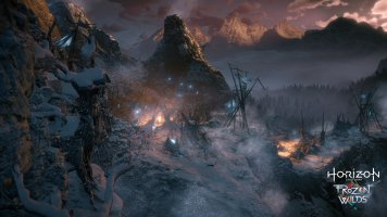 Panorama in Horizon Zero Dawn: The Frozen Wilds