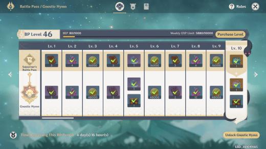 Genshin Impact: come funziona il battle pass