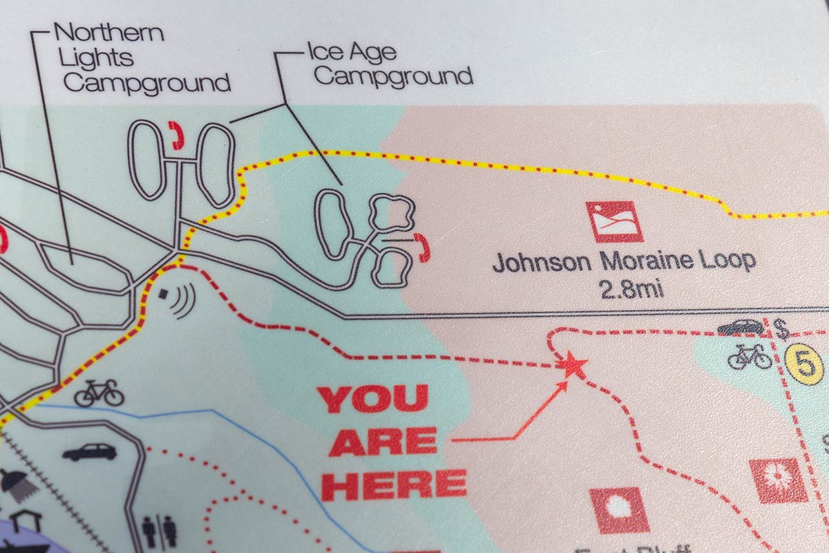 devils lake campground map Blogs Archives Devil S Lake State Park Area Visitor S Guide devils lake campground map