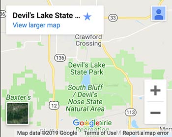 Park Stickers Fees Devils Lake State Park Area Visitors - Find-us-on-google-maps-stickers