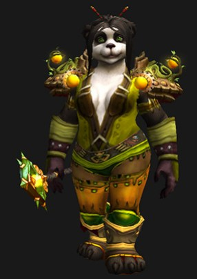 Leather Transmog - Green Man