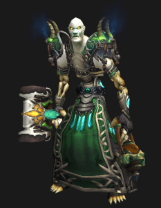 Cloth Transmog - Robe of Hoarse Breaths - Male Forsaken