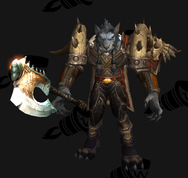 Plate Transmog - Tusks of Mannoroth - Male Worgen