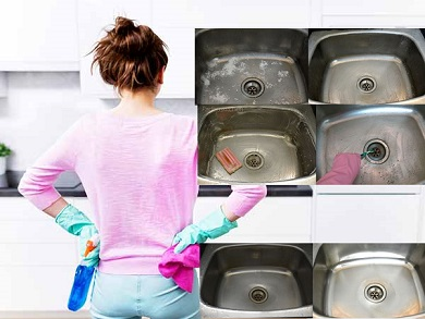 sink cleaning tips