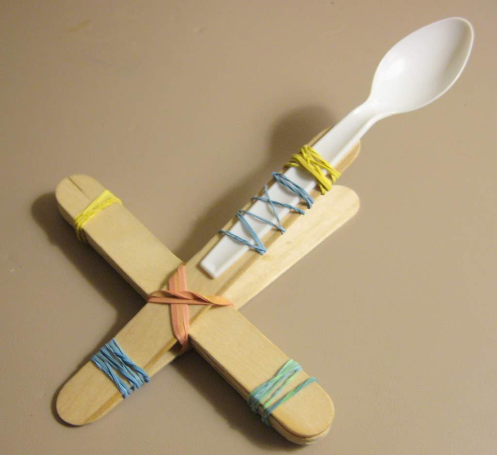 How To Build A Simple Small Marshmallow Catapult