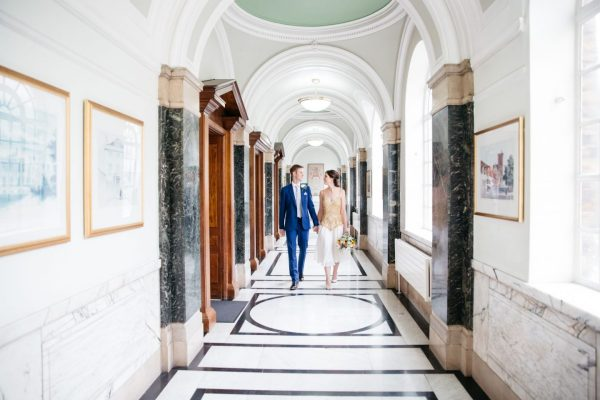Alice & James - Pretty Art Deco City Wedding Devine Bride