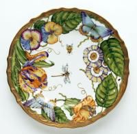 Anna Weatherley - Dinnerware - Ornate Dinner Plate from DeVine