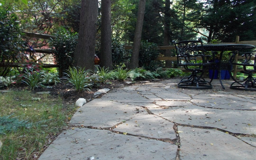 polymeric sand or stone dust