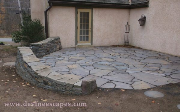 chester springs dry stone hardscape