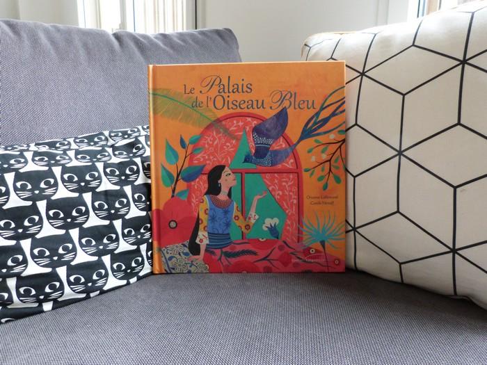 Album jeunesse - Le palais de l'oiseau bleu 1
