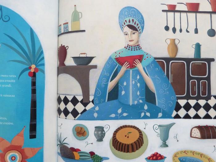 Album jeunesse - Le palais de l'oiseau bleu 4