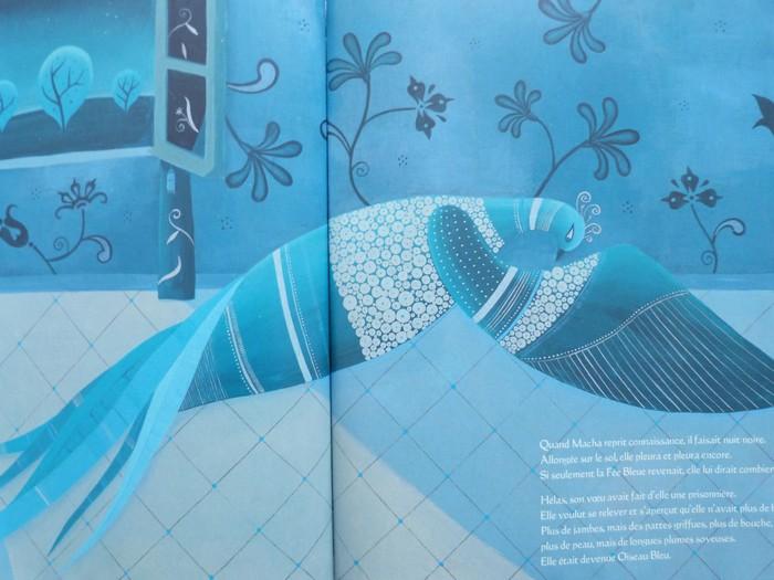 Album jeunesse - Le palais de l'oiseau bleu 6