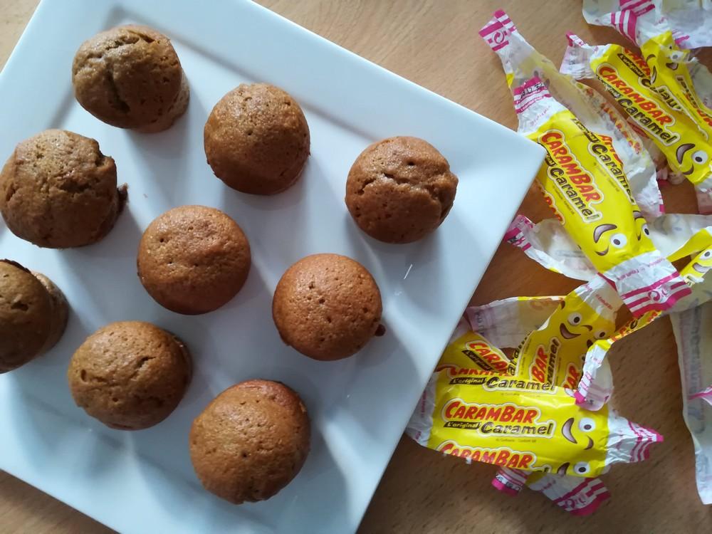 mini-muffins aux carambar - Devine qui vient bloguer ?