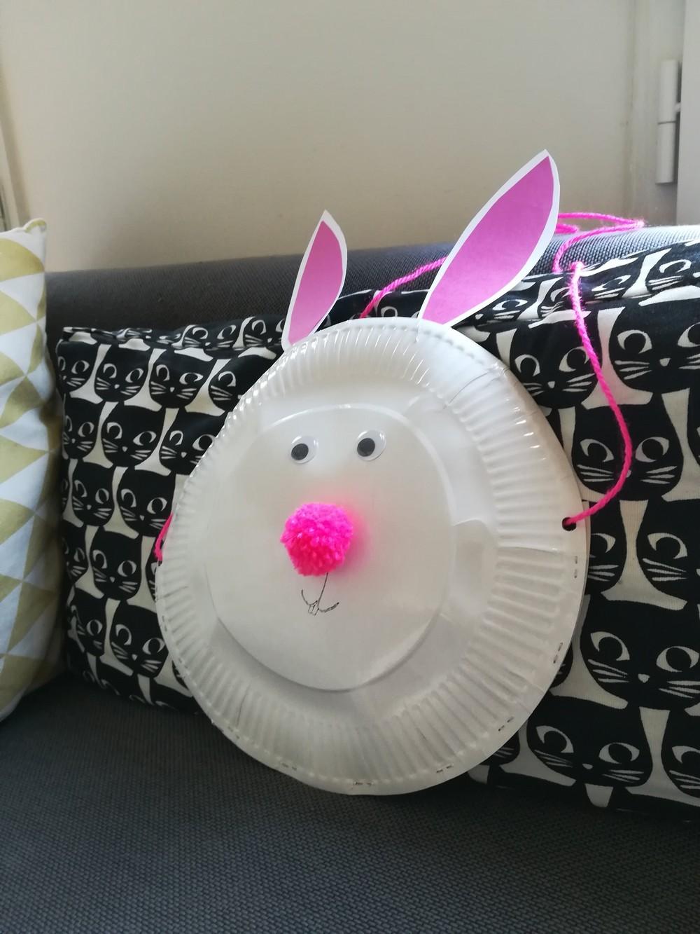 sac lapin de paques - devine qui vient bloguer ?