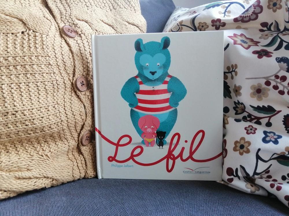 Album jeunesse - Le fil