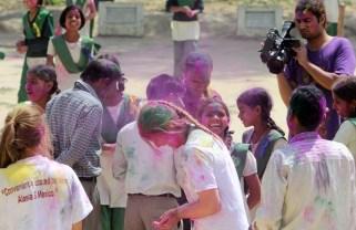 Celebration of Holi at Pardada Pardadi SchoolPhotos by Shmuel Thaler