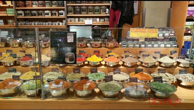 Espacio gourmet en Grand Central Terminal. Fuente: Vanessa Martiny para Devinos con Alicia