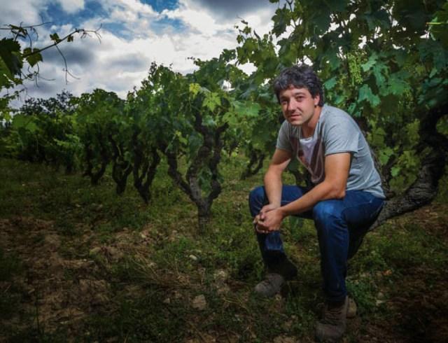 Roberto Oliván, creador del proyecto Tentenublo Wines. Fuente [en línea]: Moreno Laya, S. (c.2014)