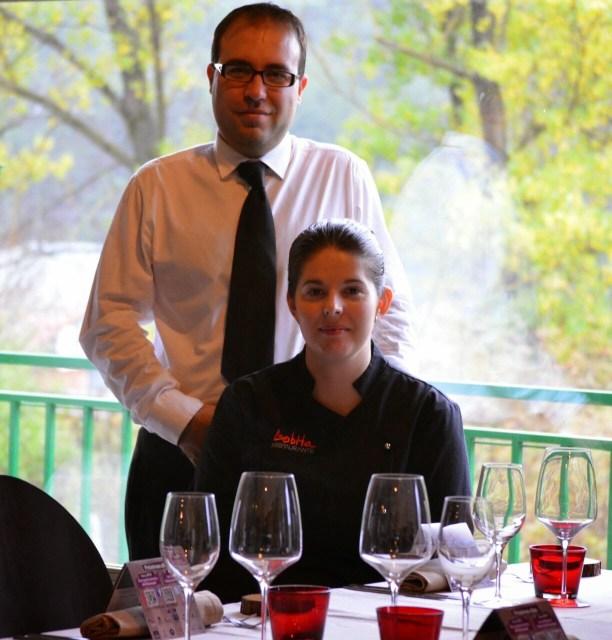 Elena Lucas y Diego Muñoz, alma y corazón de Restaurante La Lobita. Fuente: Restaurante La Lobita
