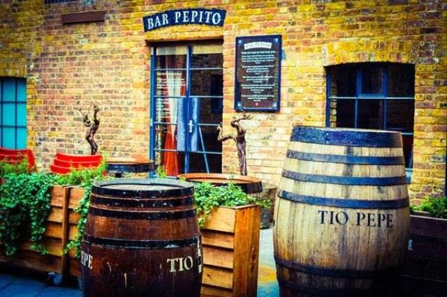 Bar Pepito, SherryBar en Londres. Fuente [en línea]: @BarPepitoLondon