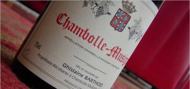 Barthod '99 Chambolle. Fuente: www.burgundy-report.com
