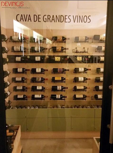 Cava de Grandes Vinos de Enoteca Barolo. Fuente: Vanessa Martiny para Devinos con Alicia