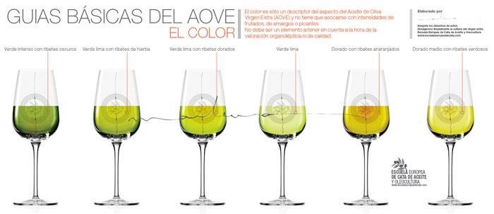 Guias basicas del Aove El Color. Copyright: Marlunavillacañas