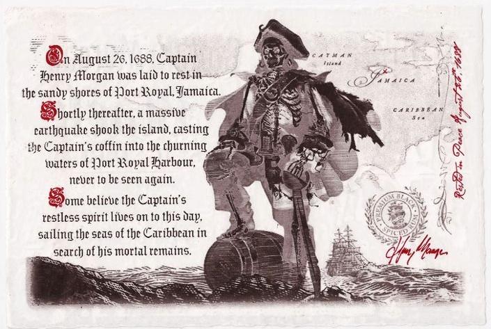 Capitan Morgan Ron Devinos con Alicia Vicio Pirata Henry