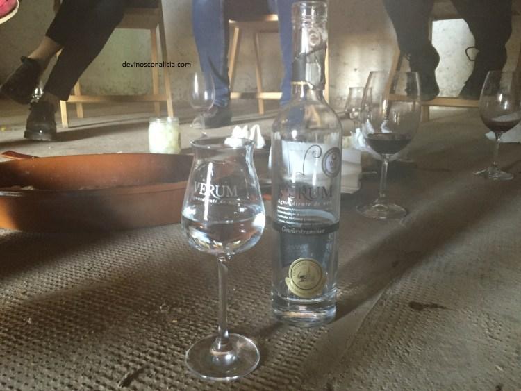 Aguardiente de vino Gewürztraminer. Copyright: devinosconalicia.com