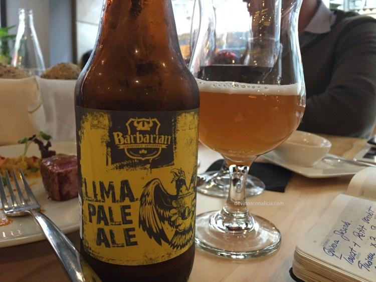 Barbarian Lima Pale Ale. Copyright: devinosconalicia.com