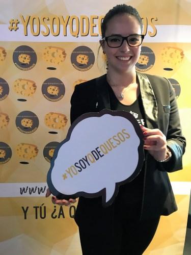 #yosoyqdequesos hashtag oficial de Q de Quesos. Copyright: www.devinosconalicia.com