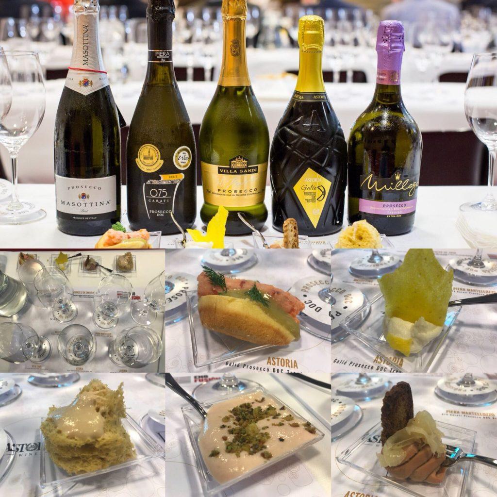 Armonía italiana a través de las burbujas de Prosecco DOC y la cocina italiana de Mauro Elli. Copyright: www.devinosconalicia.com