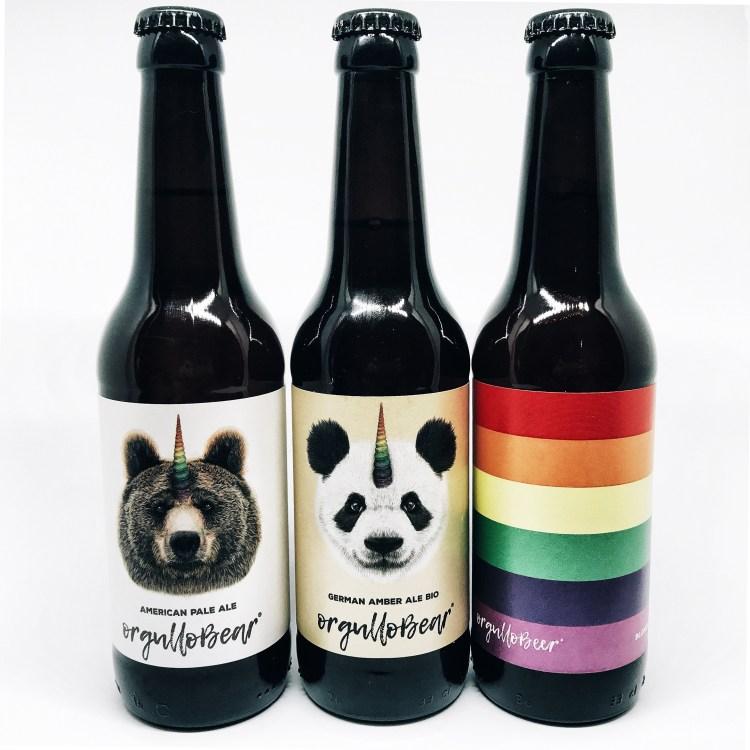 Orgullo Bear American Pale Ale, German Amber Ale y American Pale Ale. Copyright: Alicia Gómez para www.devinosconalicia.com