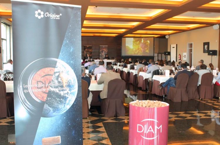 Asistentes: La IX Jornada DIAM contó con más de un centenar de asistentes, profesionales del sector vitivinícola riojano.