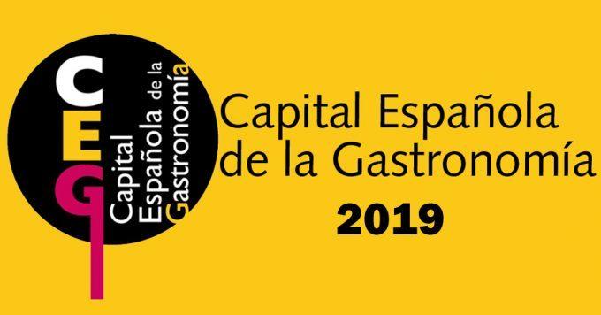 Imagen corporativa de Capital Española de la Gastronomía 2019